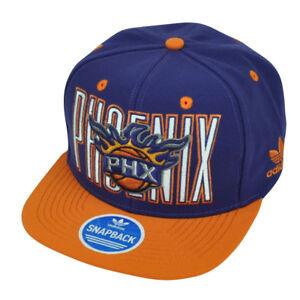 c5fe5d27f Details about NBA Adidas Phoenix Suns NQ25 Snapback Flat Bill Purple Hat  Cap Sport PHX HWC