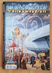 Wunderwelten-Magazin für Abenteuerspiele & Phantastik-Nr. 50 Jubiläumsausgabe