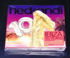 HED KANDI 10 YEARS IBIZA  3 DISC SET CD SCHNELLER VERSAND NEU & OVP