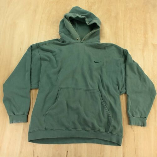 vtg usa made Nike hoodie sweatshirt XL neck check