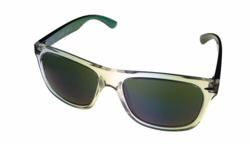 Kenneth Cole Reaction Mens Square Crystal Green Sunglass Gradient Len KC1240 26Q