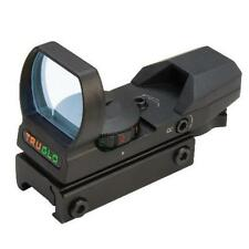 Tru-Glo Red-Dot Open 4-Rtcl Black - Tg8360B - Two Color Reticle Red/Green