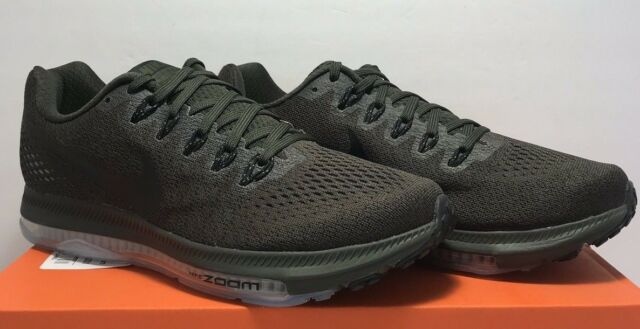 3fef05bf9f201 Nike Mens Size 7.5 Zoom All Out Low Running Sequoia Green Shoes 878670-301