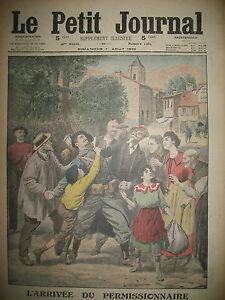 PERMISSIONNAIRE-OFFICIERS-ALLEMANDS-ET-OUVRIERS-BELGES-LE-PETIT-JOURNAL-1915