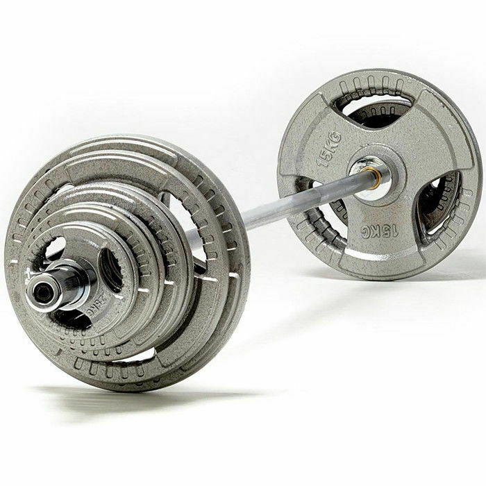 TNP accessori accessori accessori Tri-Grip GHISA Olympic Barra peso DISC SET-da 85kg-185kg a3e