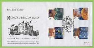 Conjunto-de-Graham-Brown-1994-medicos-descubrimientos-en-grmh-primer-dia-cubierta-Glasgow