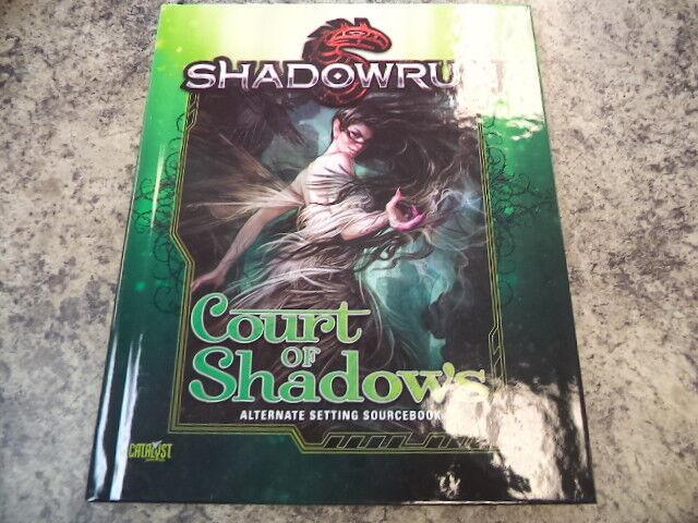 Shadowrun Shadowrun Shadowrun Court de Sombras Sourcebook 5th Fifth Edición Rpg Roleplayin Game 23b812