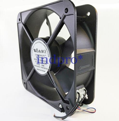 For FP20060 EX-S1-B  fan AC220//240V 0.43A 60W 200x200x60mm