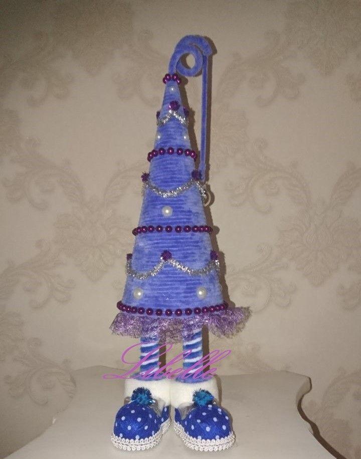 Handarbeit Deko Weihnachten Tannenbaum Geschenkidee  Weihnachtsbaum