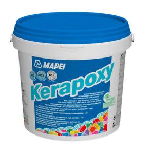 MAPEI Kerapoxy Farbe weiß  2x5 KG Epoxidharzklebstoff und Fugenmörtel