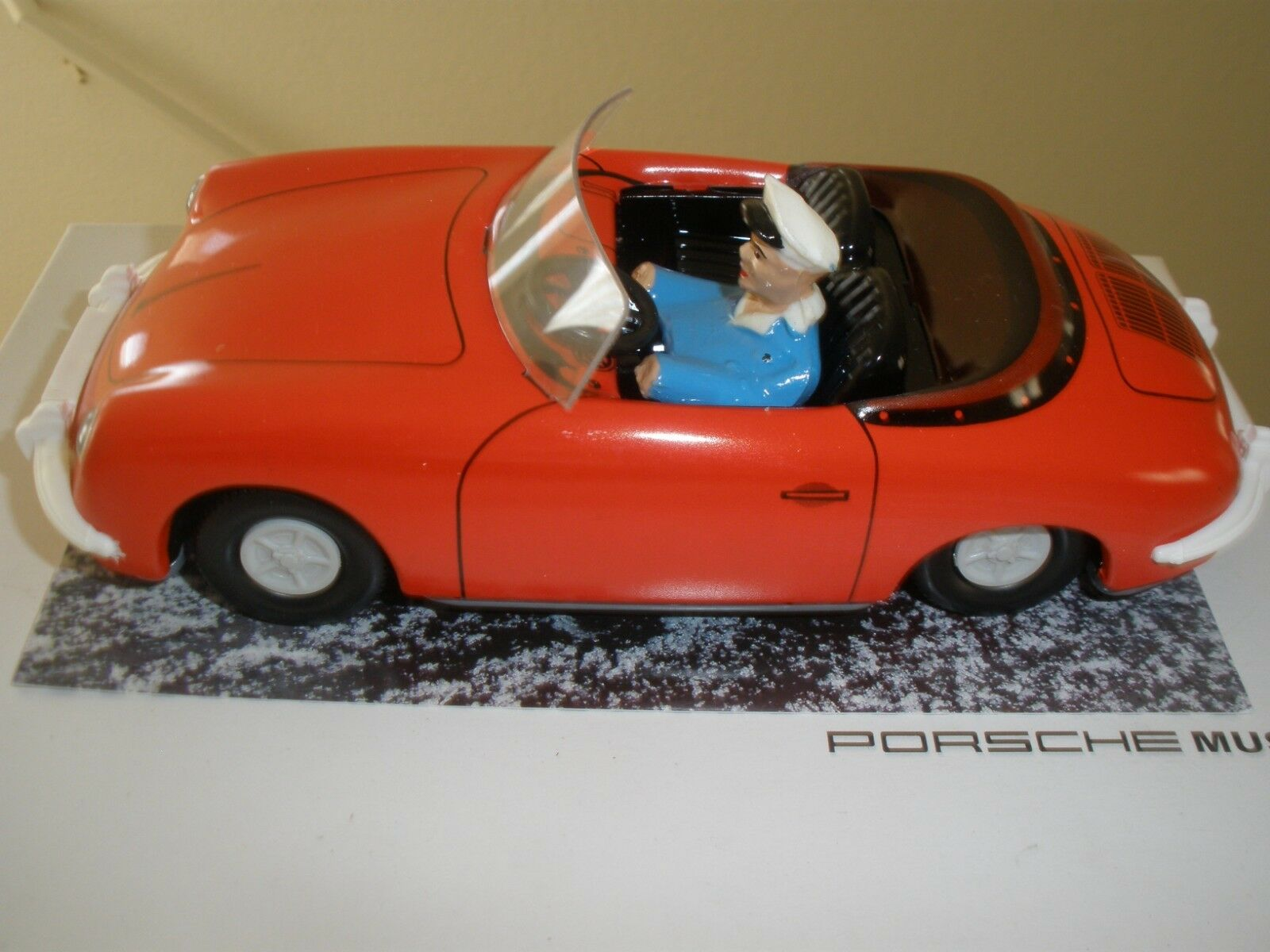 PORSCHE 356 TIPPCO FRICTION TOY CAR  (GERMANY)