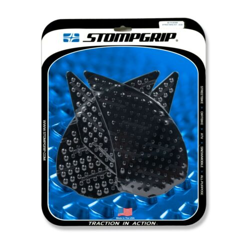 Stompgrip Kawasaki Z1000 2010-2016 Tank Pads Traction Black Stomp Grip