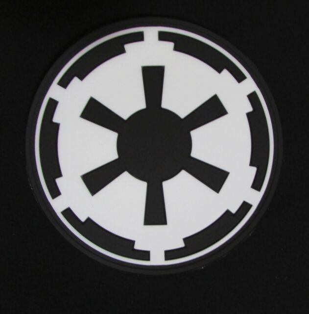 3d Imperial Galactic Empire Star Wars Logo Army Glow Gitd Velcro