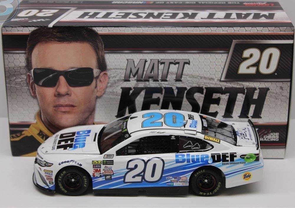 20 SpielzeugOTA NASCAR 2017  Blau DEF  Matt Kenseth - 1 24 lim.
