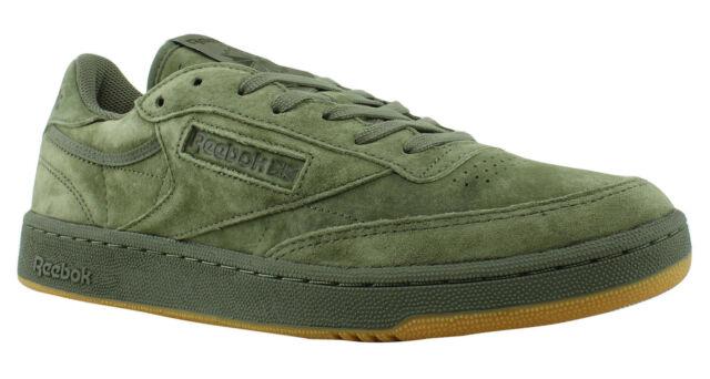 7d6bea73303 Reebok Club Classic 85 TG Men s Shoes Hunter Green Poplar Green-Gum BD4759