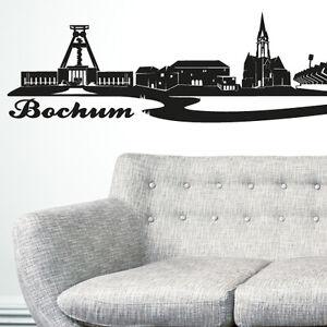 Details Zu Skyline Bochum Als Wandtattoo Wandaufkleber Wanddeko Aufkleber Von Wandkings