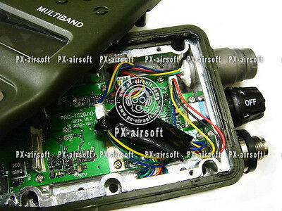DIY Amplify Parts for TRI PRC-152 Radio mbitr,silynx,peltor,nacre,crye,devgru