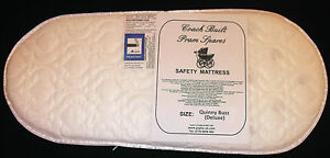 DELUXE QUILTED BREATHABLE PRAM SAFETY MATTRESS for Bugaboo Cameleon Carry Cot