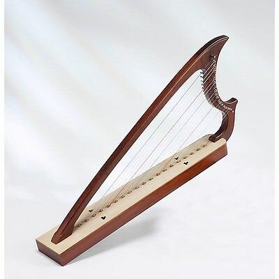 EMS Renaissance Gothic Harp, 19 Strings, ROSEWOOD **NEW**