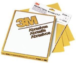 "3m 3M-2536 Production Resinite Gold Sheet 02536, 9"" X 11"", P800a, 50"