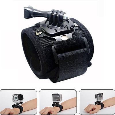 360 Degree Rotation Wrist Hand Strap Band Holder Mount for GoPro Hero 1 2 3 3+ 4