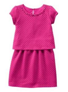 NWT Gymboree Girls Plum Pony Quilted Tiered Dress Fall Gems Size 6