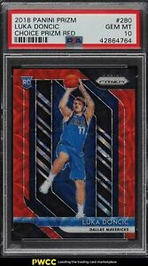 2018-Panini-Prizm-Choice-Red-Prizms-Luka-Doncic-ROOKIE-RC-88-280-PSA-10-GEM-MT