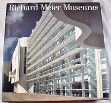 Richard Meier Museums Architect Over 350 Illustrations Hardcover DJ