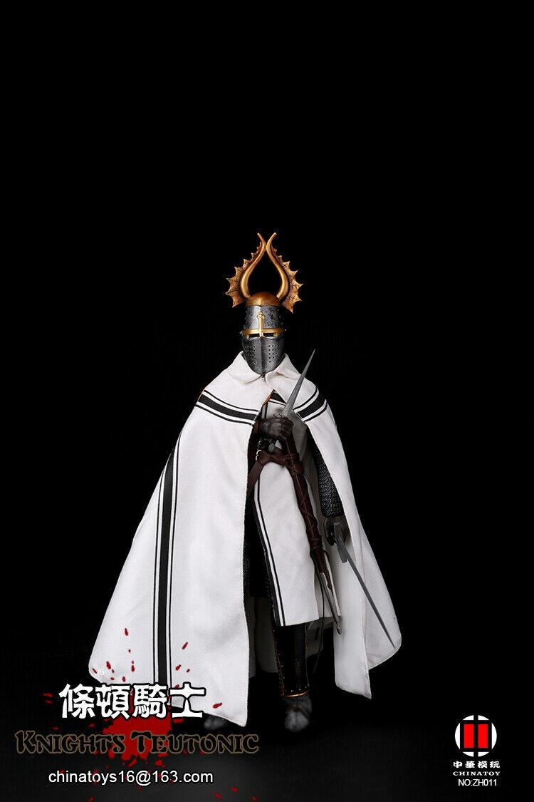 Nuevo Warriors Caballero Teutónico Orden 1 6 Figura en Stock
