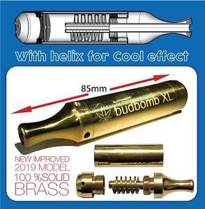 Bud-bomb-metal-smoking-pipe-Smokeless-pipe-BONG-water-pipe