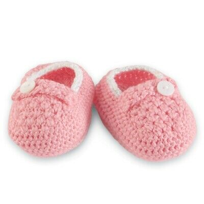 Mud Pie  0-12 Months Pink Flower  BOOTIES /& PACI CLIP Baby Girl Layette GIFT NWT