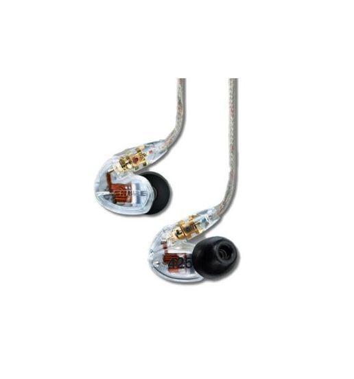 Shure SE425-CL CLEAR Sound Isolating In-Ear DJ Monitoring Headphones Earphones