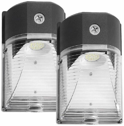 2 Pack LED Wall Pack Light 26W 3000lm 5000K Dusk-to-Dawn Photocell