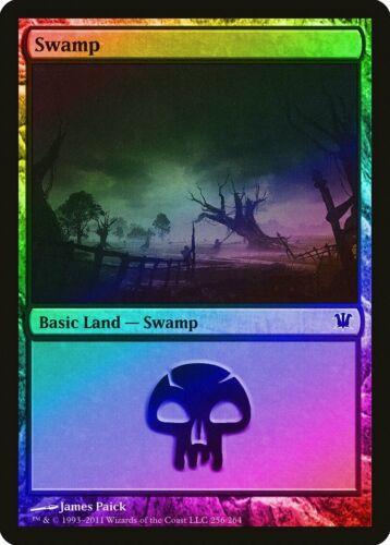 Swamp FOIL Innistrad NM-M Basic Land MAGIC THE GATHERING MTG CARD ABUGames 256