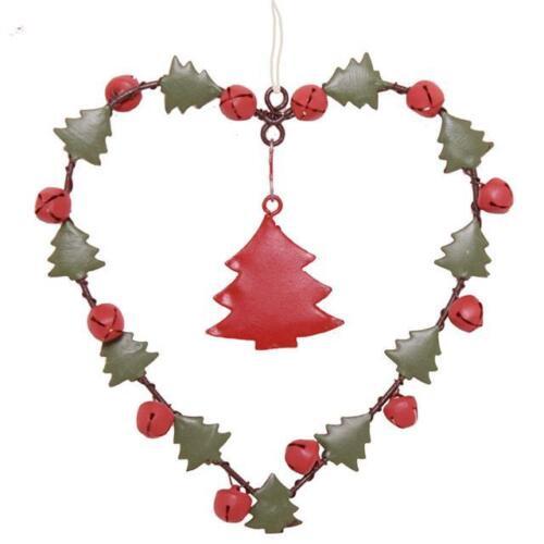 Winter Charm Heart Christmas Tree Decoration Xmas Decorations