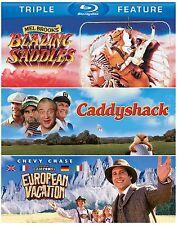 Blazing Saddles/Caddyshack/European Vacation (Blu Ray) *New, Sealed*