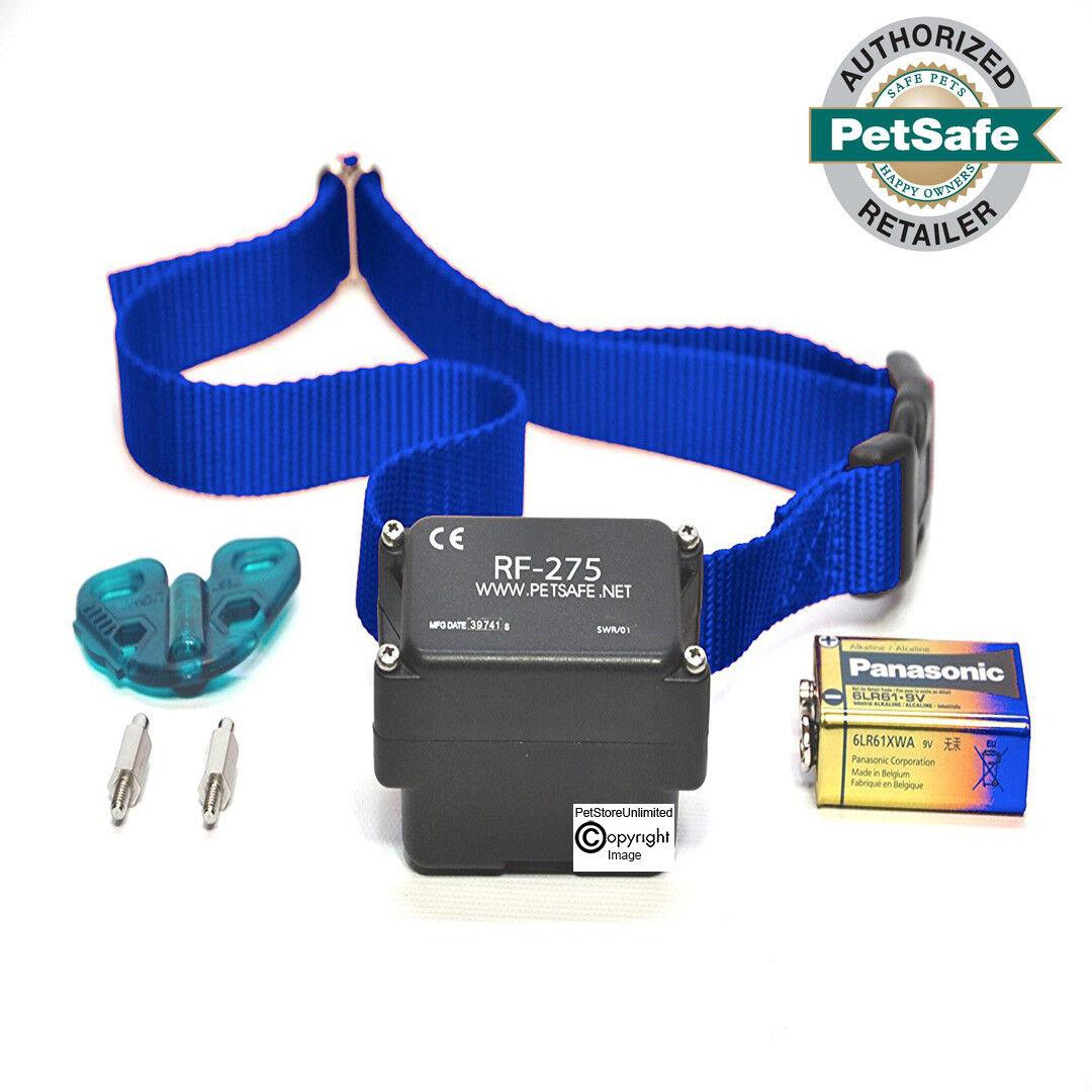 PetSafe SportDOG Stubborn Dog Fence Collar PRF-275-19 FREE Battery & bluee Strap
