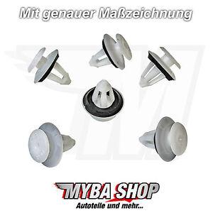 5x-revestimiento-de-puerta-Clips-Fijacion-Para-Mercedes-soporte-con-el-sello
