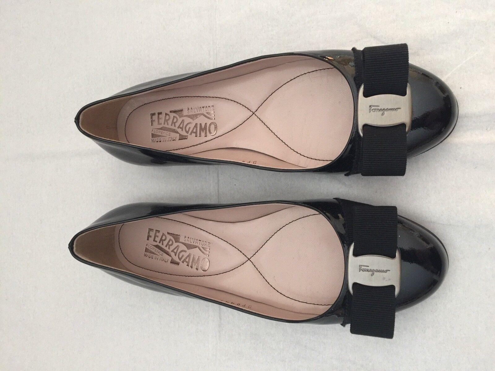 Men/Women Women Ferragamo Flats, Black, Size 5C 5C Size durable High-quality materials Rich on-time delivery a09e98