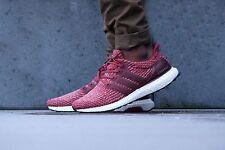 Adidas Ultra Boost 3.0 Burgundy 12.5 UK Mystery Red Mens Trainers Running BA8845