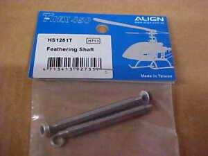 Gartt 4*51MM feathering shaft for Align Trex 450 V3 PRO Helicopter