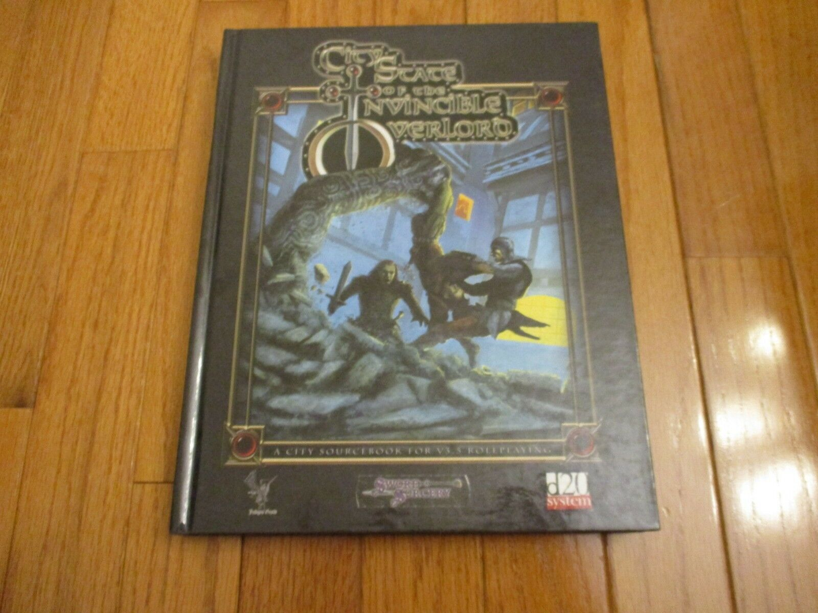 D&D D20 Sword & Sorcery City State of the Invincible Overlord HC