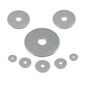 Große Unterlegscheiben M 6 DIN 9021  Edelstahl A2 ** Profi-Qualität ** 25 Stk