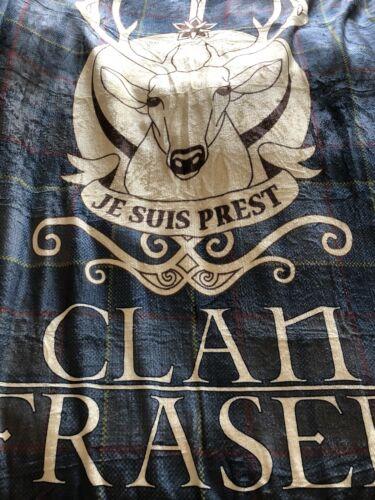 Outlander TV Série Clan Fraser Flanelle Couverture Polaire