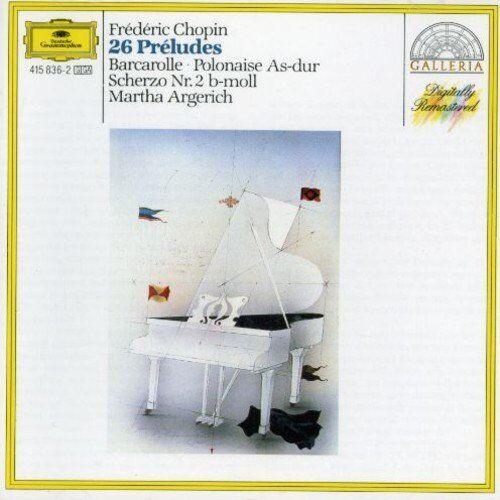 1 of 1 - Martha Argerich - Chopin: 26 Preludes - Martha Argerich CD 2TVG The Cheap Fast