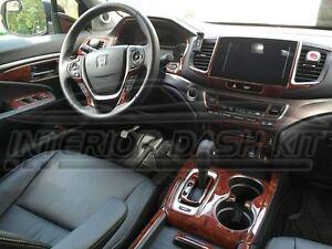 Honda pilot lx ex ex l touring interior wood dash trim kit - Honda pilot touring interior 2017 ...