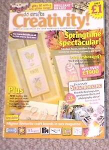 cardmaking and scrapbbooking Creativity mag Issue 2 Springtime spectacular - Barrow-in-Furness, United Kingdom - cardmaking and scrapbbooking Creativity mag Issue 2 Springtime spectacular - Barrow-in-Furness, United Kingdom