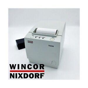 STAMPANTE-TERMICA-80MM-USB-WINCOR-NIXDORF-TH230-RISTORANTE-SCONTRINI-CASSA