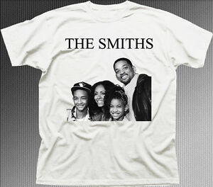 e32d16e74481 The SMITHS Will Smith family funny music rock printed cotton t-shirt ...