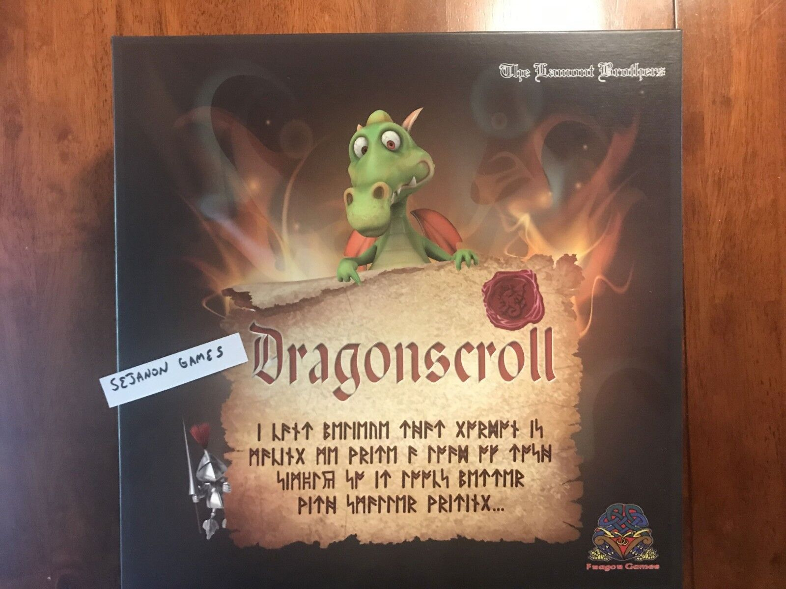 Dragonscroll by Fragor Games - excellent condition - rare and limited printing